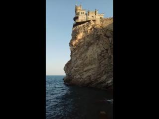 Замок Ласточкино гнездо.мыс Ай-тодор