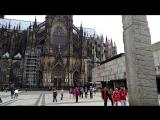 Не реально огромный собор в Кёльне