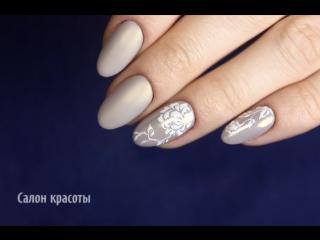 Дизайн ногтей в нежно-бежевых тонах. Как тебе?