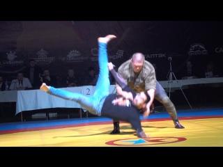 Выступление Макса Новоселова на чемпионате России по боевому самбо 2017