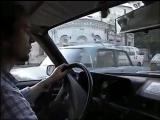 Москва, 1990 год Поездка в такси по центру Города