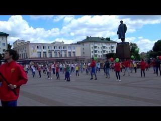 Как оршанцы танцами отметили 950-летие Орши
