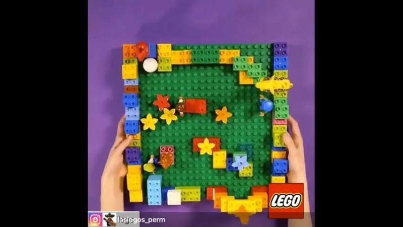 Лабиринт Lego