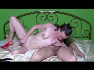 Sylvia chrystall gorgeous skinny milf. homemade blowjob amp; fucking tape
