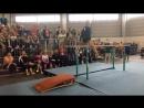 Выступление 91-летней гимнастки, это был ее последний отрыв