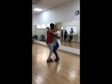 Salakiako Pedro & Evgeniya Larkina Kizomba improvisation