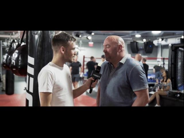 интервью с президентом UFC Даной Вайт. О бое Макгрегора против Майвезера