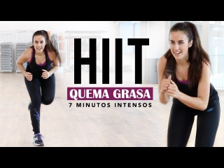 Quemar grasa | HIIT cardio de 7 minutos intenso