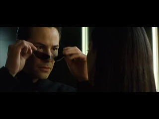The Matrix Reloaded ….kissing