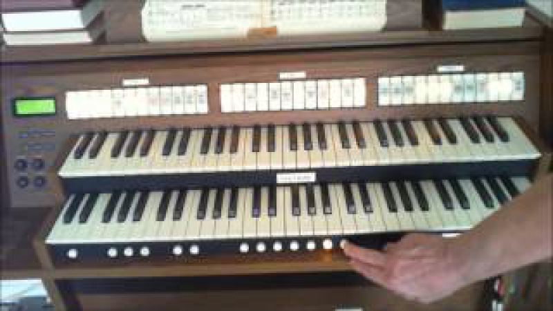 Mozart ALLELUJA for ORGAN Solo