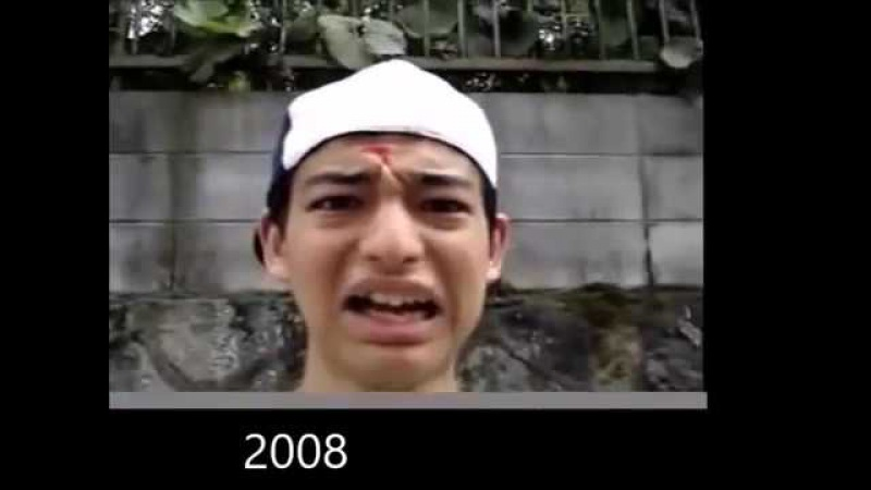 The evolution of Filthy Frank 2006 - 2017