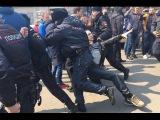 Жестокое Задержание на Митинге 26 марта в Москве.