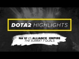 Na`Vi Dota2 Highlights vs Alliance | Empire @ The Summit 7 Quals