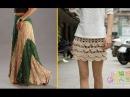 Необычайно красивые вязаные юбки схемы / knitted skirts schemas