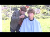[ENG SUB] BTS JIN threatens to kill V, if V messed up his hair