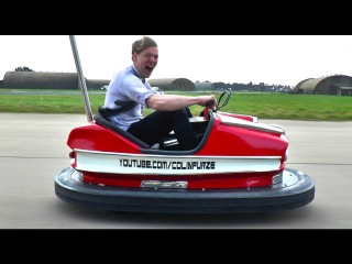 World's Fastest Bumper Car - 600cc 100bhp But how FAST? - Colin Furze Top Gear Project