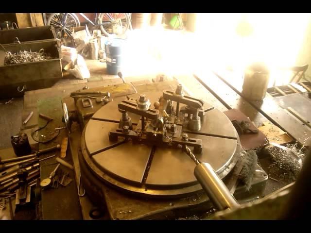 Работа на расточном станке 2А620 ф2 1 прибор 1часть