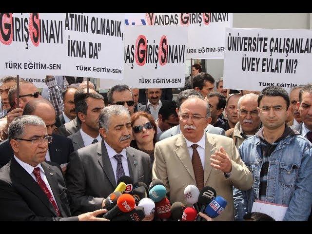 Türk Eğitim Sen YGS İptal Davası Cnntürk Haber Toplantısı
