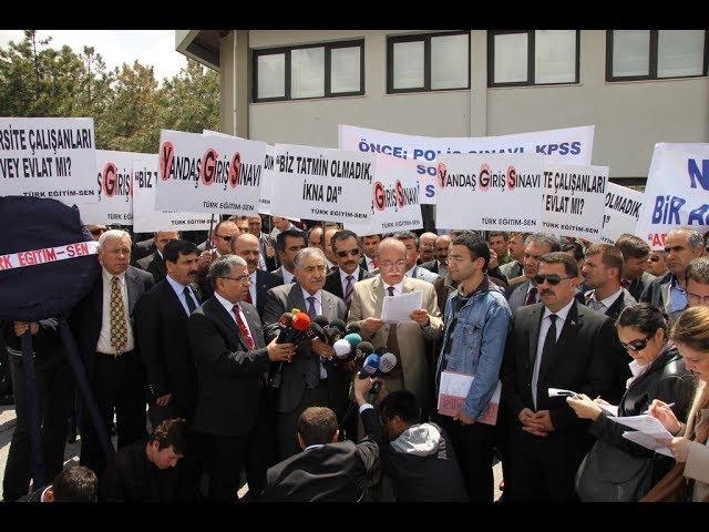 Türk Eğitim Sen YGS İptal Davası Cnntürk