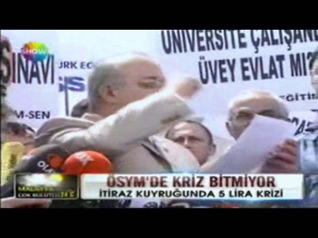 Türk Eğitim Sen YGS İptal Davası Show Tv Ana Haber