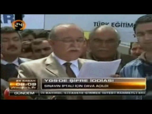 Türk Eğitim Sen YGS İptal Davası Kanal24 24 Sabah