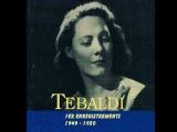 Renata Tebaldi 1ers enregistrements (19491950)