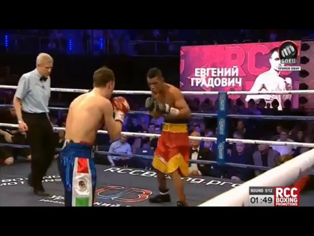 |БОКС ЗА ТИТУЛ WBA| Беррио - Градович 5.05.17/ WBA Berrio vs Gradovic BOX