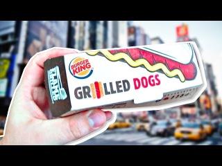 Хот-Доги в Бургер Кинге. Что едят в Америке?