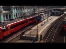 ЭД4МКМ отправляется с Белорусского вокзала