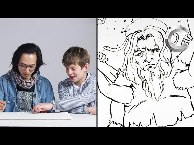 Talbott Describes God to an Illustrator   Kids Describe   Cut