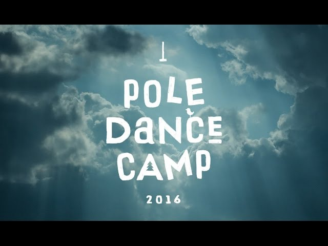 Pole dance camp MyPoleCamp 2016. Video 5 (quadrocopter)