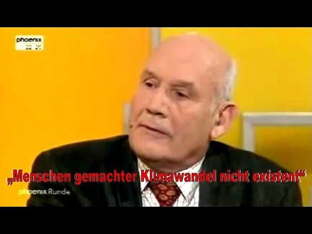 Michael Limburg entlarvt Klima-Schwindel in TV-Sendung