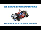LEGO Technic 40 Year Anniversary 8860 Remake Speed Build & Review [4K]