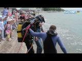 Керченские дошкольники примерили бронежилеты и акваланги