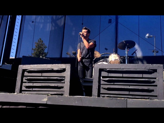 When You Were Young (Acoustic Version) | The Killers | Lake Tahoe Summit 2016 | 8.31.16