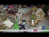 Съедобный Дюк, сладкий привоз и улицы с домами города. В Одессе открылась выставка пряничных домиков