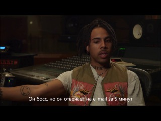 Vic Mensa On Why He Respects Jay-Z Русский Перевод
