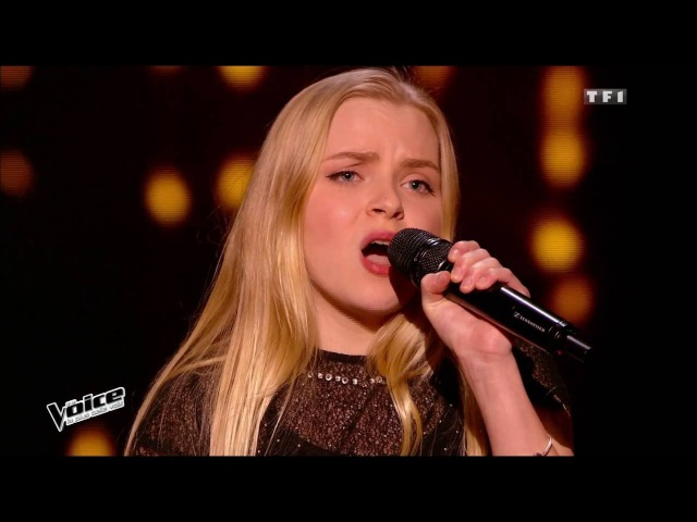 The Voice 2015│Johanna Serrano - Les feuilles mortes (Yves Montand)│Epreuve Ultime