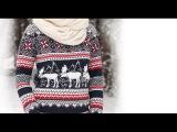Теплые свитера с оленями ЗИМА 2017