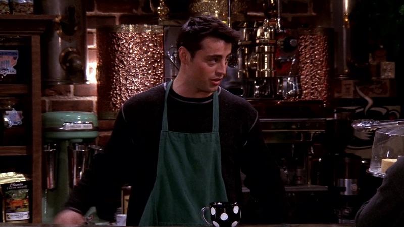 Friends 6х12 Джоуи официант