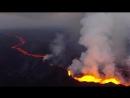 Youtube.com.Дрон снял извержение вулкана