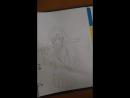 рисую Тайгу из Торадоры