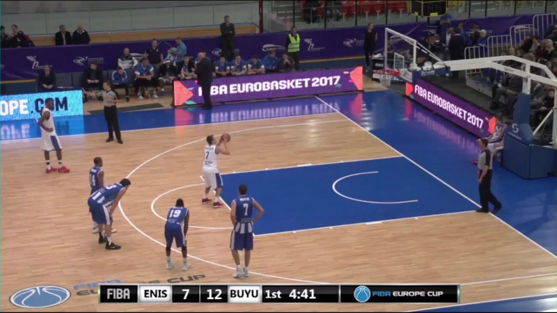 Aleksei Vzdykhalkin BC Enisey (RUS) scored 12 points in the game with Demir insaat (TUR) Oct 25, 2016 @vzd777