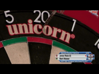 James Wade vs Mark Webster (European Darts Grand Prix 2017 / Round 2)