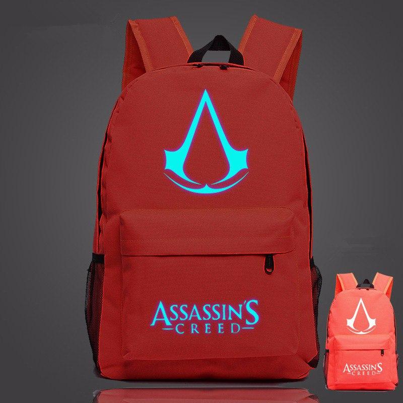 Рюкзак с светодиодной символикой Assassins Creed