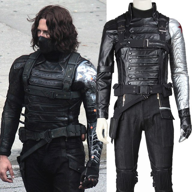 Рубрика Ночной косплей костюм - костюм The Winter Soldier