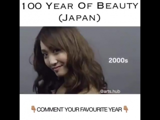 100 лет красоты в Японии 🇯🇵