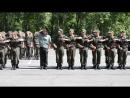 Шикування перед складанням військової присяги