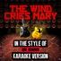 Ameritz Audio Karaoke - The Wind Cries Mary (In the Style of Jimi Hendrix) [Karaoke Version]