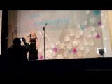 День Возрождения Балкарского Народа, на сцене Марина Машезова с песней